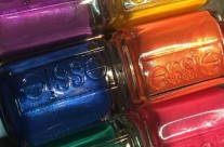 essie swatches: Shimmer Brights Neon + 1000th color rolls off the line!
