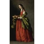 Saint Dorothy de Francisco De Zurbaran
