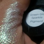 green gold sparkle