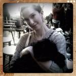 @Mr Wendy Cat at Rachel Antenoff